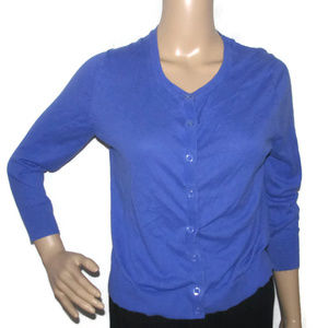 Gap Womens Medium Purple Button Down Top
